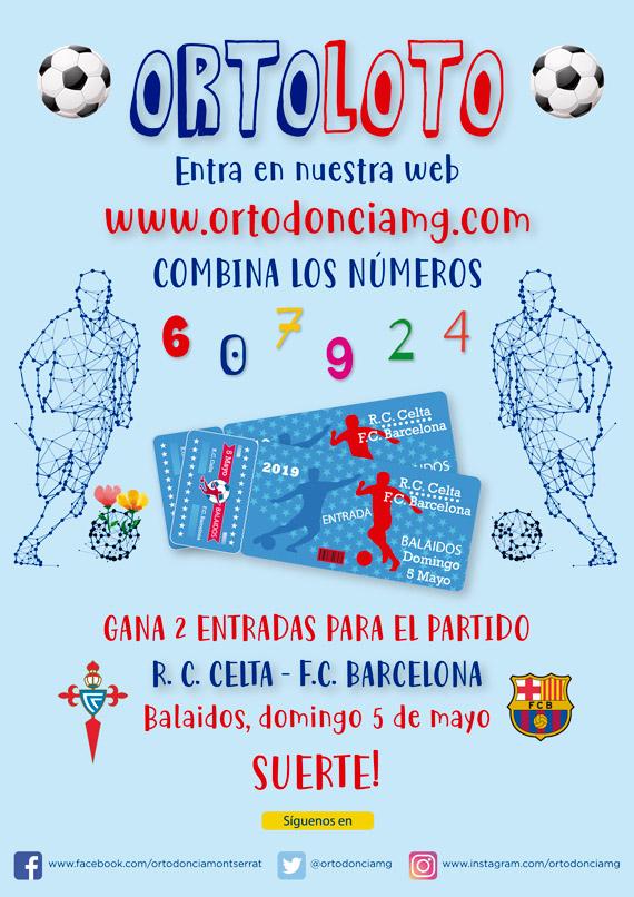 Concurso Ortoloto. Participa y Gana 2 entradas para el Celta - Barcelona