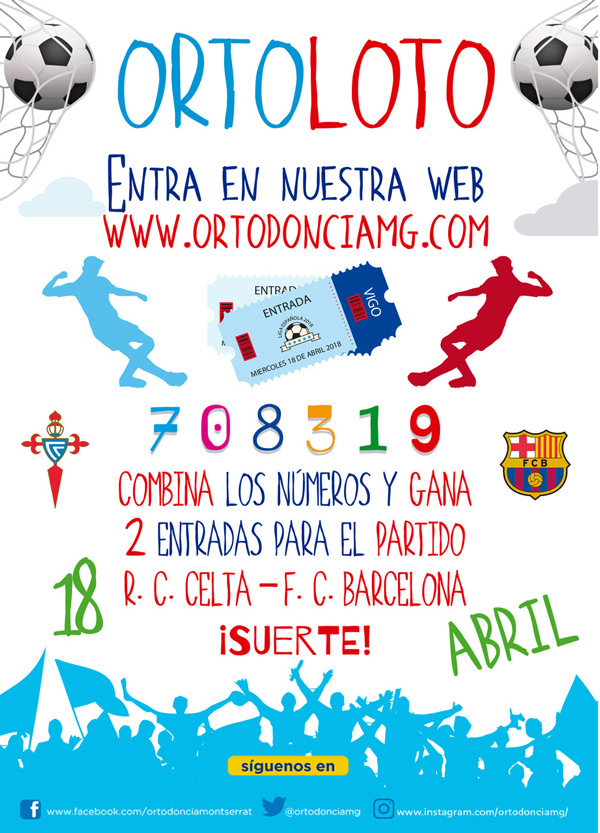 Participa y Gana 2 Entradas para el R.C: Celta de Vigo - F.C. Barcelona
