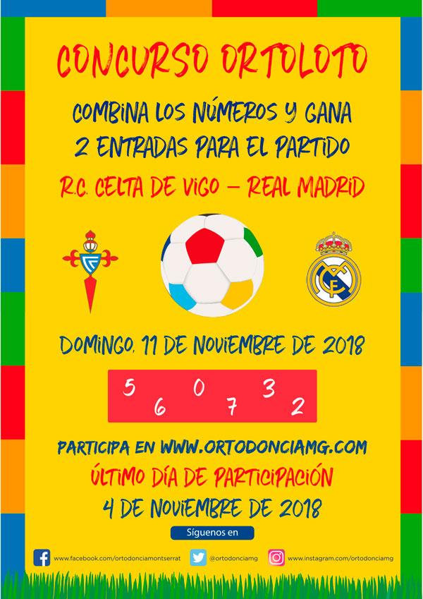 Participa y Gana 2 Entradas para el R.C. Celta de Vigo – Real Madrid