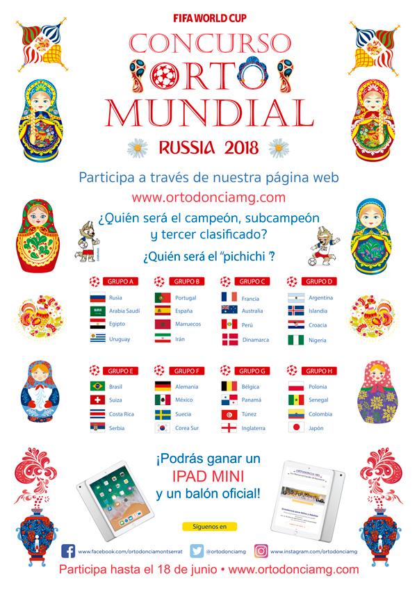 Concurso Orto Mundial Rusia 2018