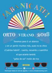 Abanícate. OrtoVerano 2018