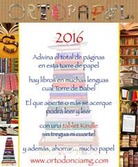 Concurso OrtoPapel 2016