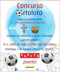 Participa y Gana 2 Entradas para el R.C. Celta de Vigo – Fútbol Club Barcelona
