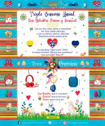 Triple Concurso Anual San Valentín, Pascua y Carnaval 2019